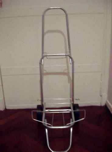 Carro porta reposera silla sombrilla heladera plegable ropa - Carro porta sillas playa ...