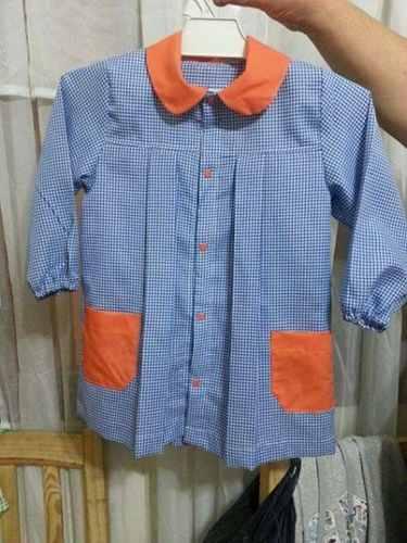 Guardapolvos para ni os de jard n mayorista de ropa for Carpetas para jardin de infantes