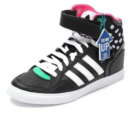 fotos de zapatillas adidas botitas de mujer