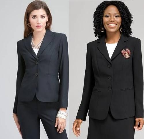 408d0f2600 Traje De Vestir Para Dama Saco Y Pantalon Uniforme » Mayorista de ropa