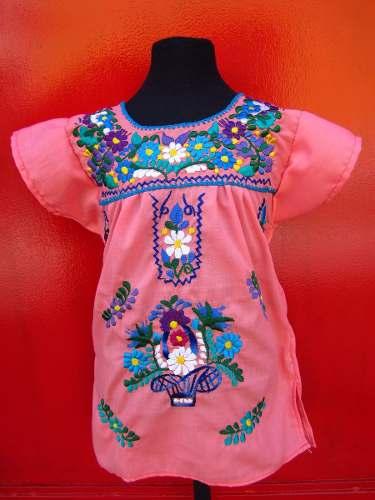 0b89c2f924 Vestido Mexicano Para Niña
