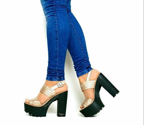 Zapatos Sandalias Fiesta Ultima Moda Verano 2017