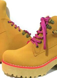 Borcegos Botas Mujer Zapatos Star Pink Otoño Invierno 2017