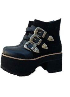 Borcegos Mujer Zapatos Botinetas Plataforma Paradisea
