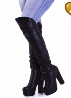Botas Bucaneras Elastizada Modelo Denis De Shoes Bayres