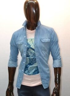 Camisas De Jean De Hombre - Entalladas-