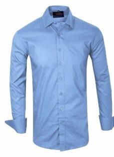 Camisas Entalladas Lisas De Vestir - Quality Import Usa