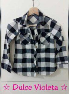 Camisas Jeans Nevadas Nena Con Aplic Y Cinturon T 4 Al 16