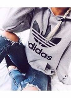 Hoodies Adidas Mujer - Buzos Canguro - Anchos