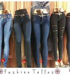 Jeans Elastizados Talles Grandes