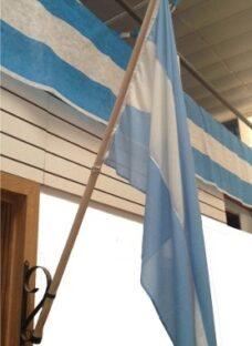 Mastil Para Bandera Con Asta Y Soporte Para Exterior