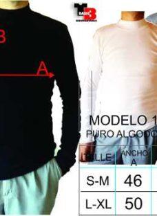Media Polera  Pack X 3 Adaptable 100 Algodon Morley
