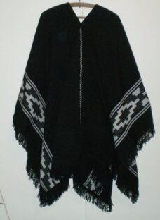 Oferta Poncho Varios Colores Negro Blanco Rojo 140x 180
