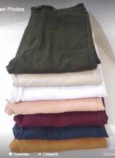 Pantalon Calce Sexy Bora Elastizado Tiro Alto Oficina