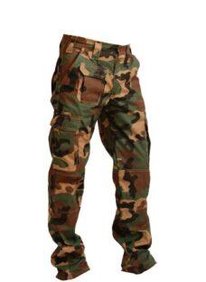 Pantalones Cargos Camuflado En Rip Stop Climbworld/ Fábrica
