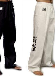 Pantalones Taekwondo Combate Itf Y Wtf A Todo El Pais Unicos