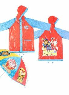 Paw Patrol  Piloto Y Paraguas Infantil Original De Disney -