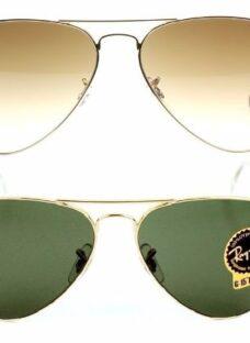 Ray Ban Aviador 3025 Anteojos Sol Erika Clubmaster Original