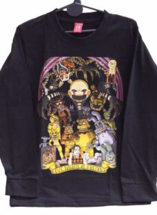 Remeras Minecraft Clash Royale Zombies Five Nights At Freddy
