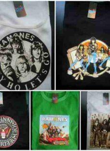 Remeras The Ramones Estampado Transfer Punk Joey Musica