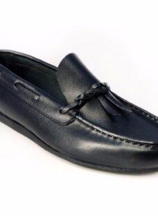 Zapatos Nauticos Mocasines Tipo Cheroca En Cuero Y Gamuzón