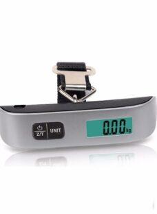 Balanza Digital Portatil Viaje Equipajes Valijas 50kg Tara *