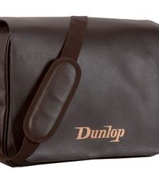 Bolso Morral Dunlop Simil Cuero Porta Laptop Marron