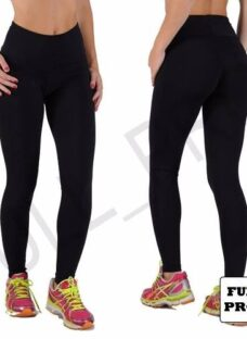 Calza Legging Chupin Negro Intenso 100% Suplex Envio Gratis!