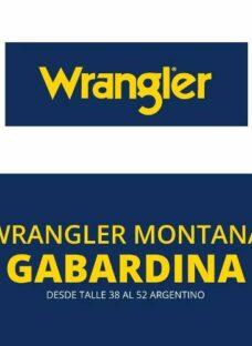 Gabardina Wrangler Montana -envio A Todo El Pais En El Dia!!