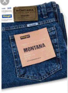 Jean Wrangler Montana ( Clasico / Recto )