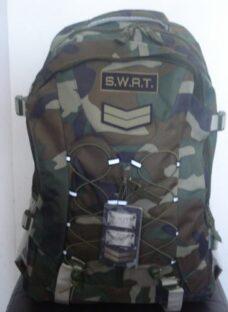 Mochila Xl Mochilón Táctica Supervivencia Camuflada Swat