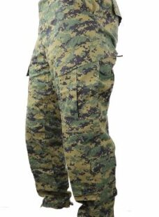 Pantalon Tactico Cargo Camuflado Digital Woodland Marpat
