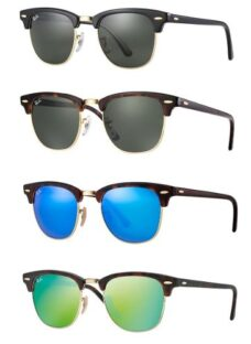 Ray Ban Clubmaster Rb3016 Originales Made In Italy