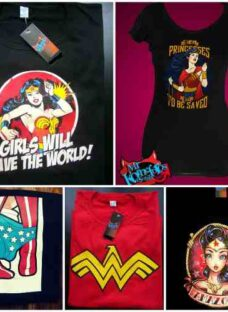 Remeras Wonder Woman Mujer Maravilla Transfer Comics
