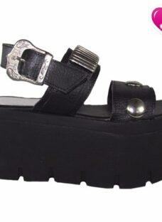 Sandalia Con Plataforma Modelo Fiona De Shoes Bayres Sale