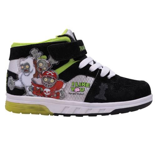 Zapatillas Botitas Plantas Vs. Zombies Con Luces Orig. Footy