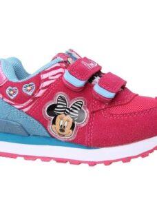 Zapatillas Disney Minnie Con Luces Orig Addnice Mundo Manias