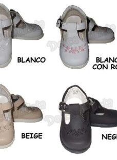 Zapato Guillermina Bautismo Beba Caminante N°16 A 21 Fiesta