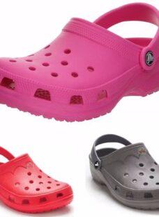 Suecos Sandalias Zueco Goma Hombres Mujeres Ojotas T/crocs