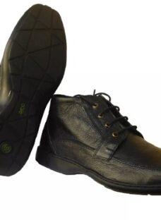 Zapatos Botinetas Botas Hombre En Cuero Goma Febo 46 Al 50