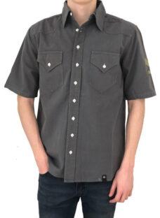 Camisa Militar Manga Corta - Colores  - B A Jeans