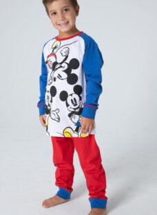 Pijama Mickey Estampa Licencia Oficial Disney Niños