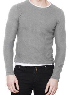 Sweater Hombre Tejido Pullover Algodón Importado Entallado