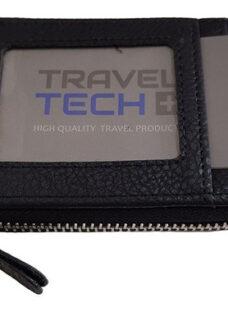 Tarjetero Organizador Travel Tech 100% Original - Cuero Pu