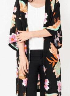 Kimono Estampado Verano M L Xl
