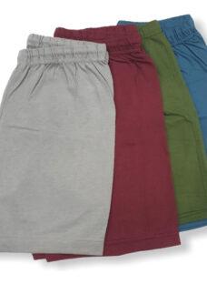 Pack X 3 Pantalón Pijama Corto De Algodón Para Hombre