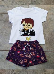 Pijama Corto Mujer Harry Potter