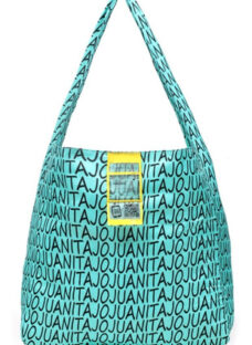 Bolsa De Tela Juanita Jo Hand Bags Estampa Logo Juanita Jo